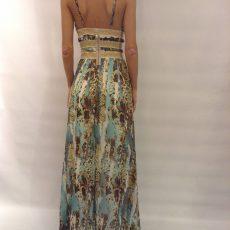 Maxi αέρινο φόρεμα από μουσελίνα