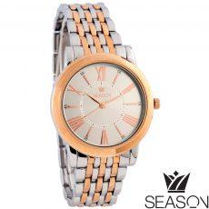 Γυναικείο ρολόι 6-2-49-3 ροζ χρυσό-ασημί
