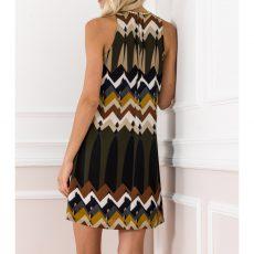 Mini φόρεμα τύπου aztec σε Α γραμμή