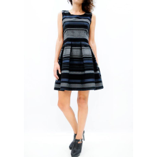 Mini φόρεμα με πιέτες σε γραμμή Α