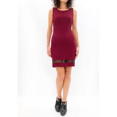 Φόρεμα mini με τούλι στο τελείωμα