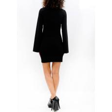 Mini φόρεμα με άνοιγμα στα μανίκια
