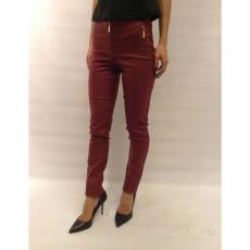 Ψηλόμεσο ελαστικό παντελόνι δερμάτινο