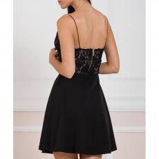 Ρομαντικό mini φόρεμα με δαντέλα