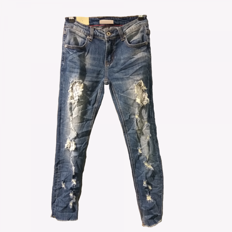 Jean trousers insignia strass
