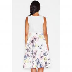 Midi φούστα floral