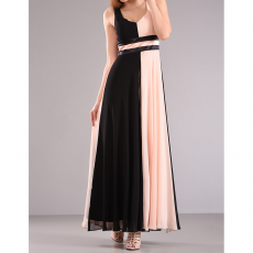Maxi αέρινο φόρεμα με ανοικτή πλάτη