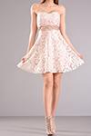 Mini φόρεμα strapless