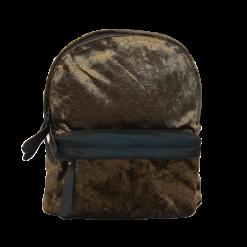 Γυναικείο backpack με δερμάτινες λεπτομέρειες