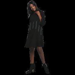 Κοντό φόρεμα ελαστικό σε άνετη γραμμή