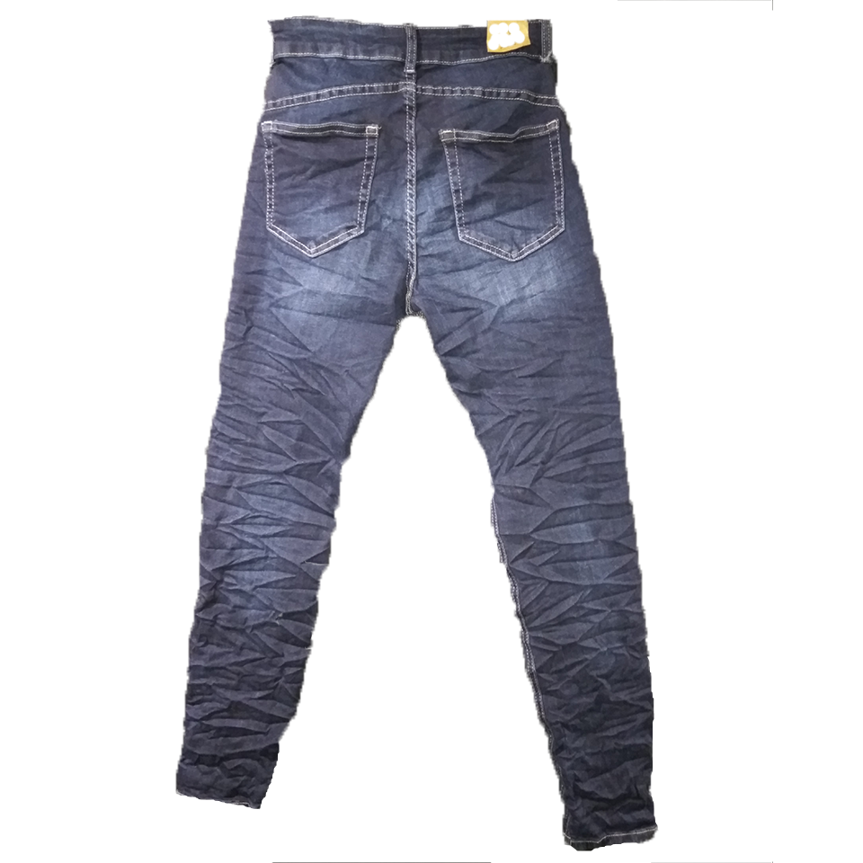 Γυναικείο ελαστικό ψηλόμεσο παντελόνι jean