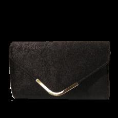Βελούδινος φάκελος με χρυσό κούμπωμα