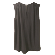Βελούδινη γυναικεία μπλούζα χωρίς μανίκια