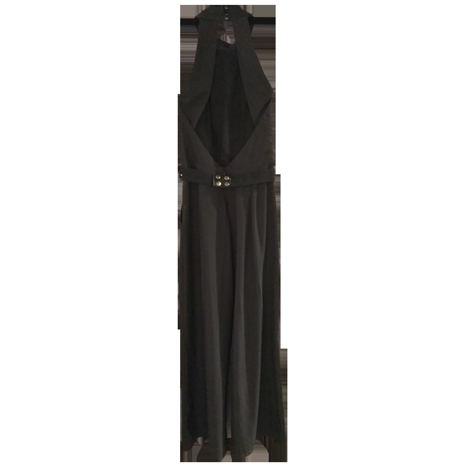 Ολόσωμη φόρμα με πιέτες στο μπούστο