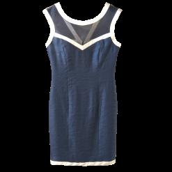 Αμάνικο μονόχρωμο κοντό φόρεμα