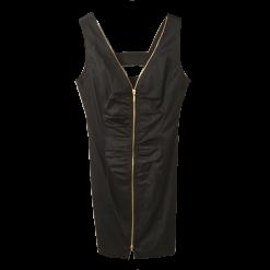 Αμάνικο κοντό φόρεμα με φερμουάρ μπροστά