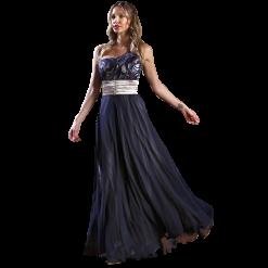 Αέρινο maxi φόρεμα με έναν ώμο