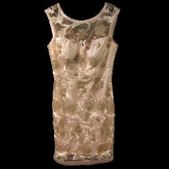 Κοντό φόρεμα με strass και παγιέτες